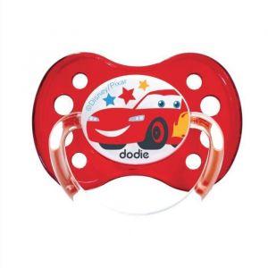 DODIE Sucette anatomique Duo A68 - A partir de 6 mois - Disney Cars (Lot de 3)