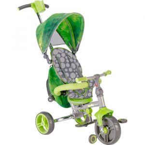 STROLLY -Tricycle Evolutif Strolly Compact - Vert - MONDO Tricycle Evolutif Strolly Compact - Vert - Garçon - A partir de 10 mois