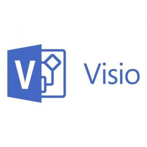 MICROSOFT Visio Professionel 2019 - Box Pack - 1 PC - Medialess - Création - Français - Licence Medialess - PC