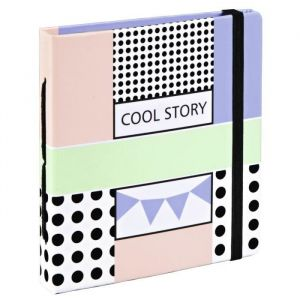 HAMA 00002396 Pochette Cool - 56P - Format 5,4x8,6 max - HAMA 00002396 Pochette Cool - 56P - Format 5,4x8,6 max - Pages intérieures en papier kraft - Motif graphique