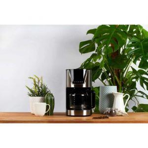 LIVOO DOD172 Cafetière électrique programmable - Noir