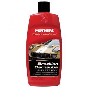 MOTHERS Nettoyant et cire liquide de carnauba brésilienne California Gold - 456 g - 473 ml