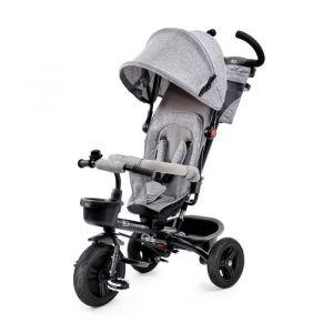 KINDERKRAFT Tricycle AVEO Gris - 3 roues - Evolutif - Pliable - Éveillez la curiosité - Sécurité avant tout - Solutions pratiques - Utilisation confortable - Une approche de style - A partir de 9 mois à 5 ans - Livré à l'unité