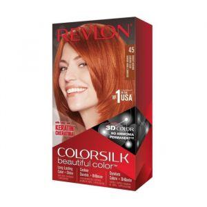 COLORSILK Coloration N°45 - Auburn brillant clair- 59,1 ml