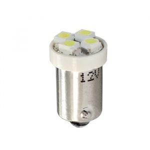 PLANET LINE Lot de 2 Ampoules LED - BA9s - 4 LED SMD 3528 - 12 V - 0,40 W