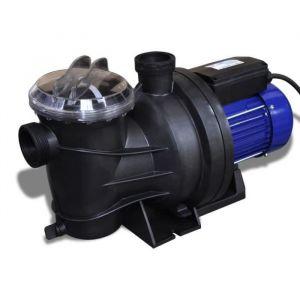 Magnifique Pompe électrique de piscine 1200 W Bleu