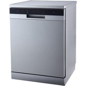 CONTINENTAL EDISON CELV1444S - Lave vaisselle pose libre - 14 couverts - 44 dB - A++ - L 60 cm - Bandeau silver