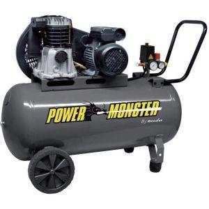POWER-MONSTER Compresseur à courroie 100L - 3HP -  425191