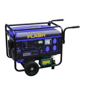 MASTER FLASH Groupe électrogène à essence 4500W démarrage électrique avec kit chariot MF4800NE