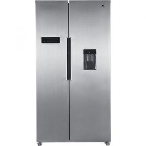 CONTINENTAL EDISON Réfrigérateur américain 433L (288L + 145L)-Total No frost - display LED-distributeur d'eau - PROFONDEUR 60 cm