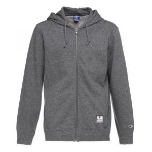 CHAMPION Sweatshirt à capuche - Homme - Gris fonçé