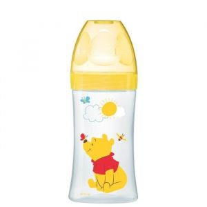 WINNIEDODIE Biberon Sensation+ 270 ml Jaune De 0 à 6 mois -DISNEY Baby (Lot de 2)