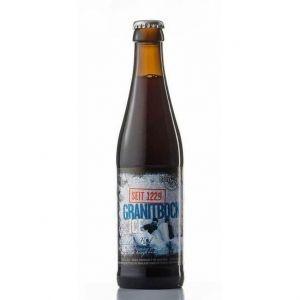 BRASSERIE HOFSTETTEN Granit Bock ICI Bière Brune - 33 cl - 11,5 %