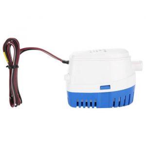 Zerone Pompe de cale Pompe à eau de cale submersible automatique du bateau 12V avec interrupteur à flotteur