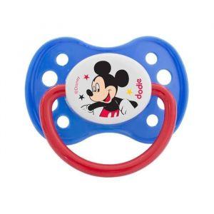 DODIE Sucette Anatomique Duo A63 Mickey - A partir de 6 mois - Disney Baby (Lot de 2)