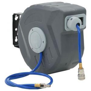 &4059Haute qualité-Dévidoir Enrouleur tuyau d'eau rétractable automatique - tuyau d'arrosage   3-8-