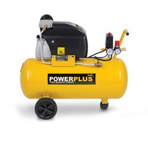 POWERPLUS Compresseur d'air 50 L  8 bar  2 CV