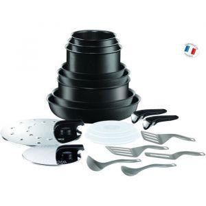 TEFAL Ingenio Performance Batterie de cuisine 20 pièces Noir Tous feux dont induction L6549802
