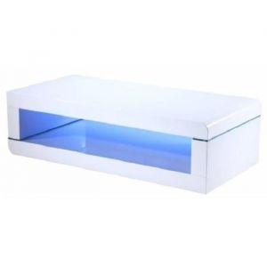 Table Basse Blanc Laque Led Comparer 68 Offres