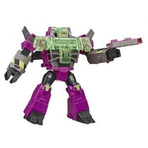 Transformers Bumblebee Cyberverse Adventures - Robot action Ultra Clobber 17cm - Jouet Transformable 2 en 1