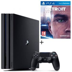Pack PS4 Pro 1 To Noire + Detroit Become Human
