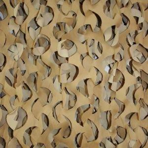 X 5 m FILET DE CAMOUFLAGE BEIGE SABLE TAN DESERT VENDU AU METRE EN 2.4M DE LARGE