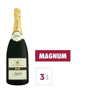 GH MARTEL De azanove Apparat Champagne Brut - Blanc - 1,5 l x 3