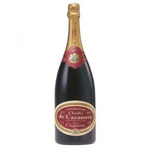 CHAMPAGNE CHARLES DE CAZANOVA cuvée spéciale Cazanova - Brut - 150 cl