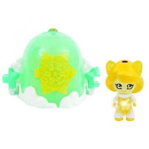GLIMMIES Polaris Maison Glimgloo Maison Igloo + 1 Glimmies Exclusif Sophie - Mini Figurines à collectionner