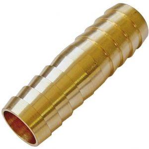Jonction cannelée laiton - 15 mm