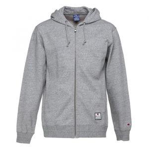 CHAMPION Sweatshirt à capuche - Homme - Gris chiné