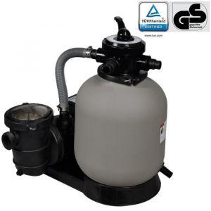 Pompe à Filtre à sable et particules Cuve filtrante Pool Piscine Hors-sol Filtration - 600 W 17000 l-h -BOH