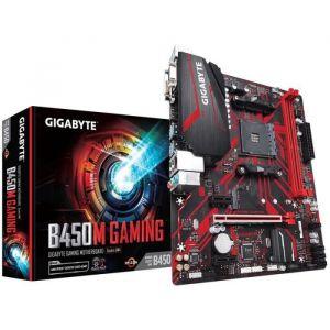 GIGABYTE Carte Mère Ultra Durable B450M GAMING - AMD Chipset - Socket AM4 - 32 Go DDR4 SDRAM RAM maximale - UDIMM, DIMM