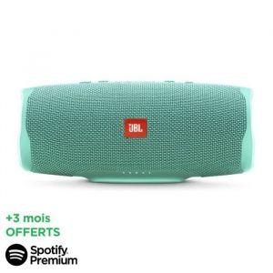 [SPOTIFY PREMIUM - 3 MOIS OFFERTS] JBL Charge 4 Enceintes Bluetooth portable - 20 heures d'autonomie - Turquoise
