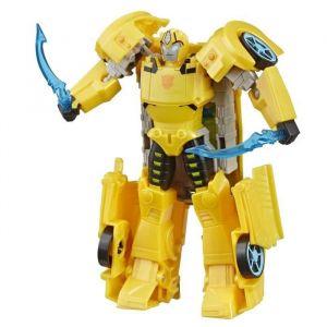 Transformers Bumblebee Cyberverse Adventures - Robot action Ultra Bumblebee 17cm - Jouet Transformable 2 en 1