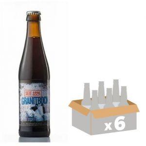 BRASSERIE HOFSTETTEN Granit Bock ICI Bière Brune - 33 cl x6 - 11,5 %