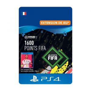 1600 Points FIFA pour FIFA 20 Ultimate Team™ - Code de Téléchargement pour PS4
