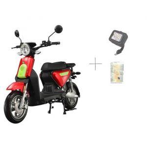 EUROCKA Scooter eurocka c1 rouge électrique  60v26ah 1500w batterie lithium amovible