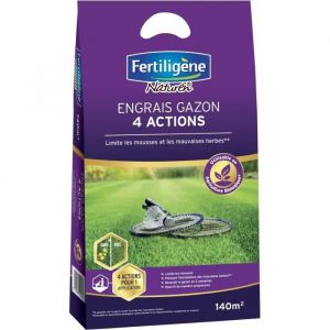 FERTILIGENE Engrais Gazon 4 Actions F4MP - 5,6 kg