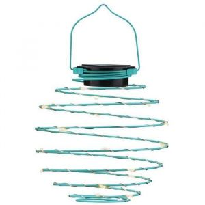Lampion spirale solaire Ø12cm x2
