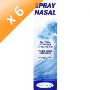 Lot de 6 - VITARMONYL Spray bébé nasal - 125 ml