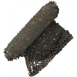 X 15 METRES FILET DE CAMOUFLAGE CAMO MARRON VERT A LA COUPE LARGEUR 2.4M X 10M