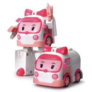 ROBOCAR POLI - Véhicule Transformable AMBRE