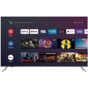 QLED CONTINENTAL EDISON Android TV 55' (139cm) 4K UHD Borderless Wi-fi- Bluetooth Netflix- HDR -Google Assitant - Google Play -