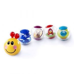 BABY EINSTEIN La Chenille sur roues  Roller-pillar Activity Balls™ - Multi Coloris