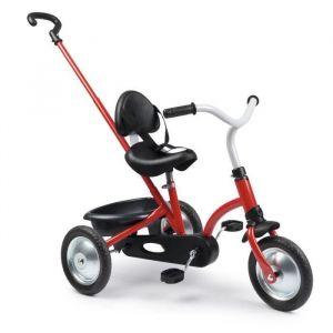 SMOBY Tricycle Zooky Original - Tricycle évolutif rétro avec pédalier central. Dispositifs roue libre et verrouillage du guidon.