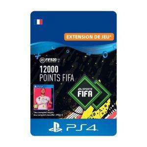 12000 Points FIFA pour FIFA 20 Ultimate Team™ - Code de Téléchargement pour PS4