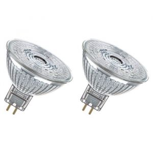 OSRAM Lot de 2 Ampoules spot LED MR16 GU5,3 2,9 W équivalent à 20 W blanc froid