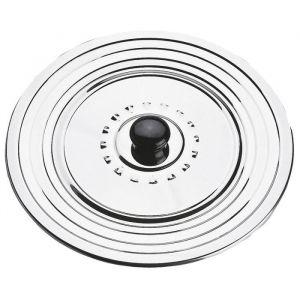 EQUINOX Couvercle anti-projection - 28-30-32 cm - Gris