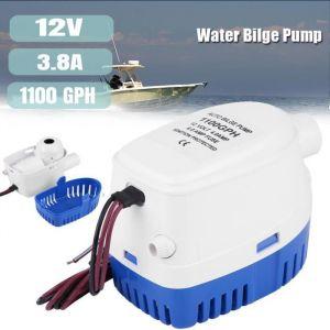1100GPH bateau 12V Marine automatique submersible pompe à eau de cale interrupteur à flotteur entièrement automatique interne HB007